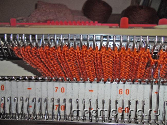 Машина для вязания петли