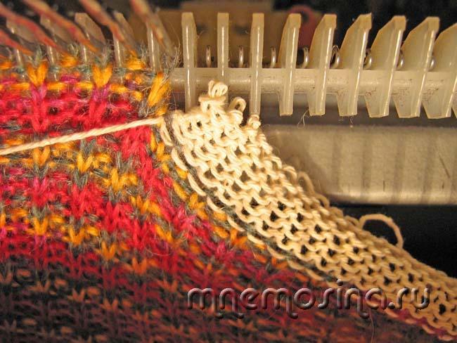 Мастер-класс вязания на