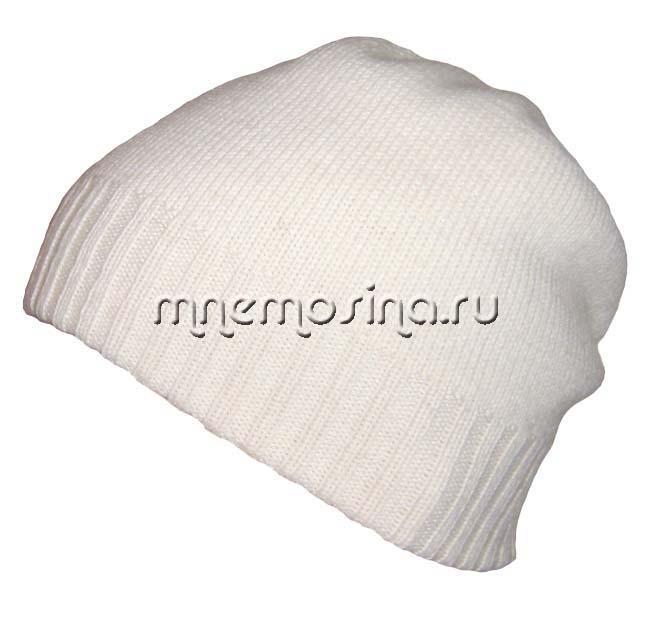 Двойная шапка с защипами