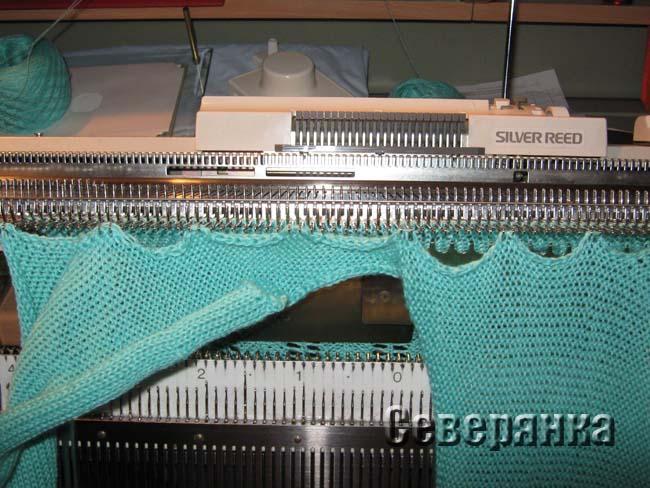 Машинное вязание Основы техники вязания на машинке