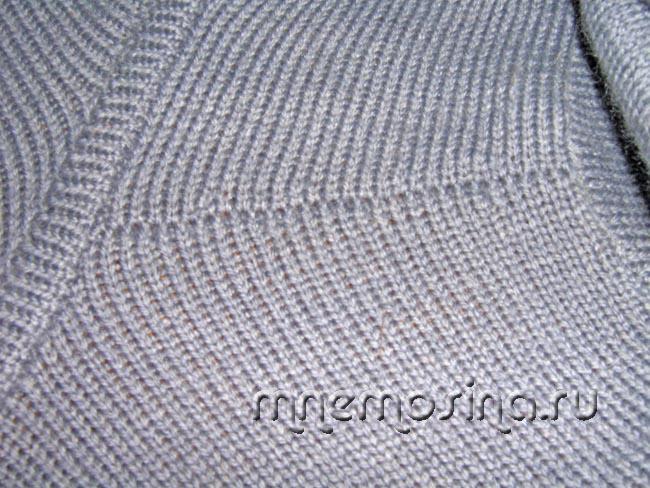 урок вязания на вязальной машине сшиваем плечо на вязальной машине