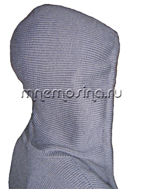 мк вязание капюшона