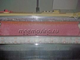 Мастер класс вязания на машине вязаное платье с рукавом погон