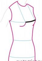 Мерки. центр груди