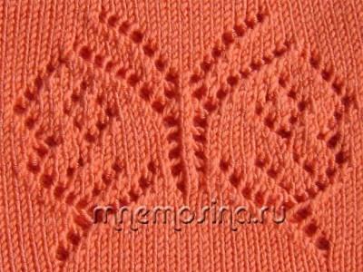 ажурные косы узоры вязаний спицами