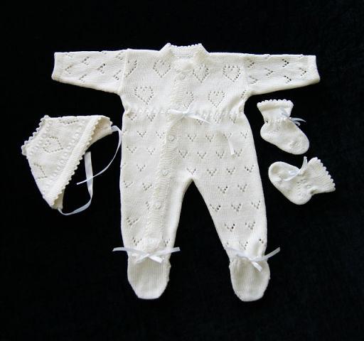 Вязание на машинке для новорожденных